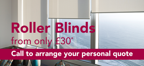 Roller Blinds from only £30